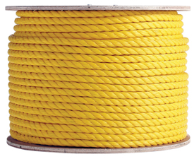3 Strand Yellow Polypropylene