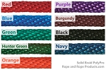 Solid Braid Polypropylene Rope 100-ft. x 3/4-inch