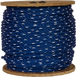 3-Ply Twisted Polypropylene Rope 600-ft x 1/4-inch