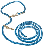 Polyester Neck Rope with Solid Brass and Brass Plate Hardware 11-ft. x 1/2-inch