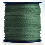 Hollow Braid Hunter Green Polypropylene 500-ft. x 1/2-inch - 2 Spools