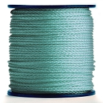 Hollow Braid Kelly Green Polypropylene 1000-ft. x 1/4-inch - 2 Spools