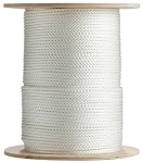 8 Carrier Diamond Braid Multifilament Polypropylene 1000-ft. x 1/4-inch - 2 Spools