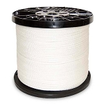 Polyester Knit Braided Clothesline - Draw String 1000-ft x 1/4-inch
