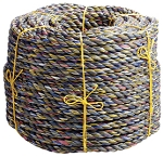 3 Strand Poly-Random Leaving Line 600-ft. x 1 1/2-inch