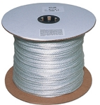 Braided White Nylon 1000-ft x 3/8-inch
