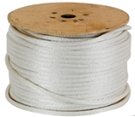 Solid Braided Polyester Rope white 100-ft x 3/4-inch